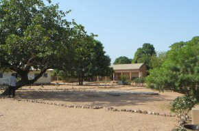Misera Basic School. Up country and very close to the Senegal border