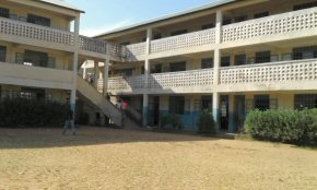 a large Gambian school