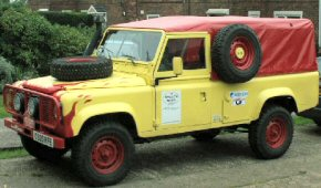 Iron Mighty's Land Rover