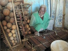 Ebrima and his xylophones