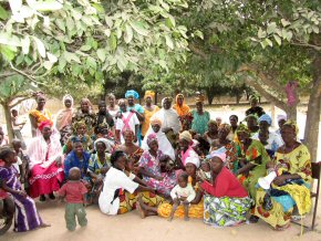 Jambanjelly women who will be taking part  in the loan scheme