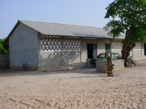 exterior view of the new classroom block