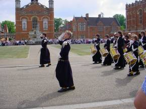 Beating Retreat at Christ's Hospital