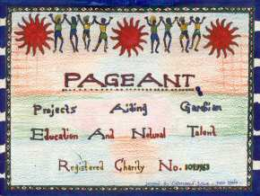 Osman Sowe's version of the Pageant logo