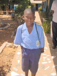 Sponsored boy from Bakau New Town LBS