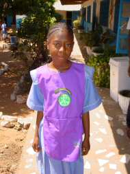 Sponsored girl from Bakau New Town LBS