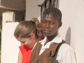rances & sponsored girl Bintou