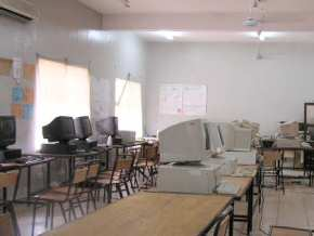 Gambia SSS computer lab (1)