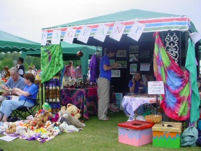 the Pageant stall at Horsham Rotary Club Fair