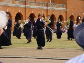 'Beating Retreat' at Christ's Hospital