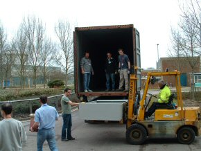 loading the container (1)
