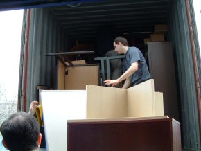 loading the container (4)