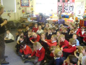 Children at Westdene Primary School