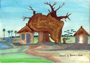 Ousman Sowe's picture 'Tree of Africa'