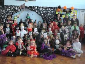 St Mary's RC Primary School, Whitehaven - fancy dress Halloween Disco - pic1