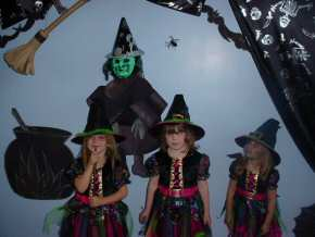 St Mary's RC Primary School, Whitehaven - fancy dress Halloween Disco - pic3