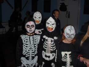 St Mary's RC Primary School, Whitehaven - fancy dress Halloween Disco - pic5