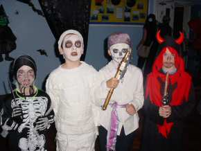 St Mary's RC Primary School, Whitehaven - fancy dress Halloween Disco - pic7