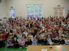pupils of Beckstone Primary School