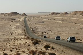 the road to Dakhla